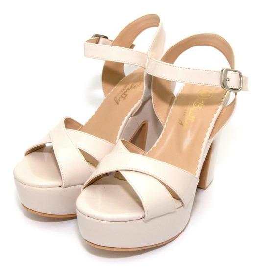 Zapatos Sandalias Charol Class Express Art. Pepa-78