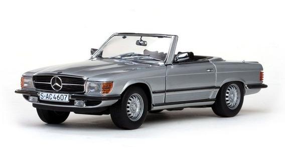 1977 Mercedes Benz 350 Sl Cabriolet - Escala 1:18 - Sun Star