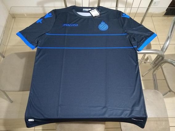 Camisa Time Futebol Macron Club Brugge Bélgica Oficial