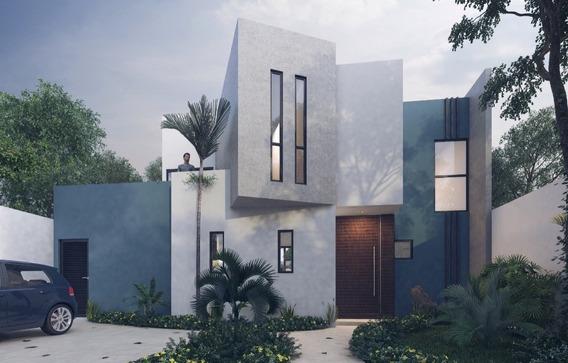 Casa En Venta En Merida Yucatan. Conkal Zona Norte Residencial En Privada.