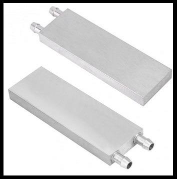 Water Block Aluminio Cpu Gpu Peltier Bloco De Aluminio 120mm