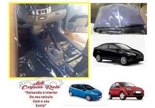 Tapete Carpete Verniz 0.70 P Fiesta New Sedan Hatch