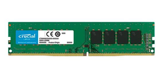Memoria Ram Crucial 4gb Ddr4 Pc 2666 Mhz 4096 Mb Mexx 3