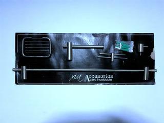 Kit De Accesorios Para Baños 5,piezas Acero Inox.sueltas