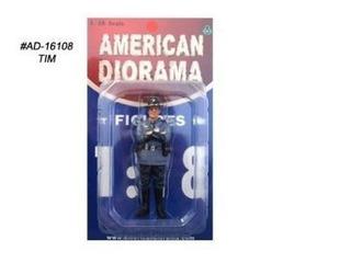 American Diorama 1:18 Figura Policía Del Estado De Tim Ad-16