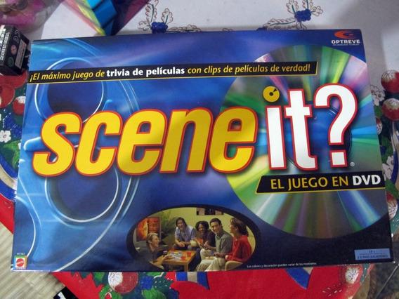 Juego De Mesa Scene It? Juego De Trivia De Películas Con Dvd