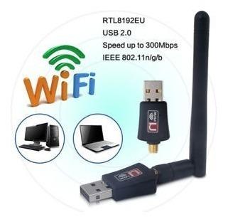 Adaptador Usb Wifi - Antena Receptora - Oferta