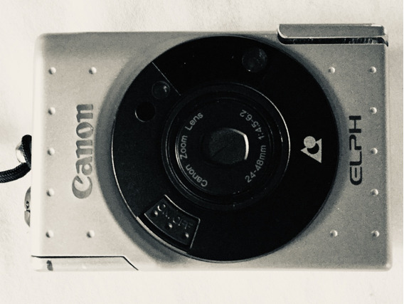 Câmera Fotográfica Canon Elph (filmes Aps) (para Coleção)