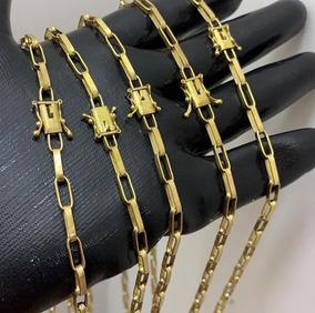 Corrente Cartier Banhada Ouro 18k