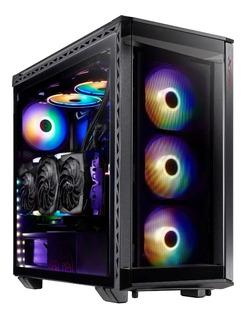 Chasis Gamer Xpg Battlecruiser Super Mid-tower Black Argb