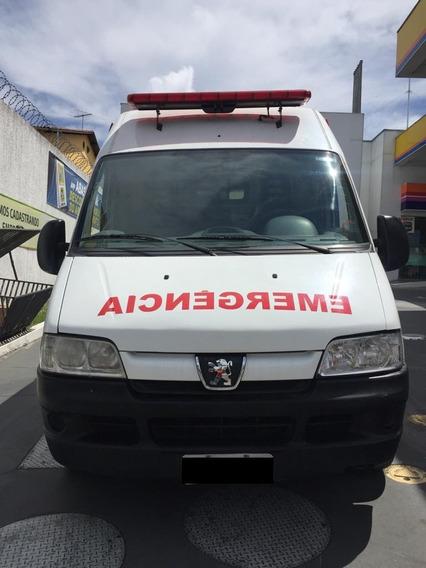 Ducato Boxer Ambulancia Uti Completa Com Ar