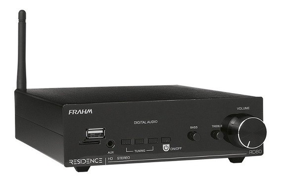 Amplificador Receiver Frahm Residence Rd80 160 Rms (2 X 80)