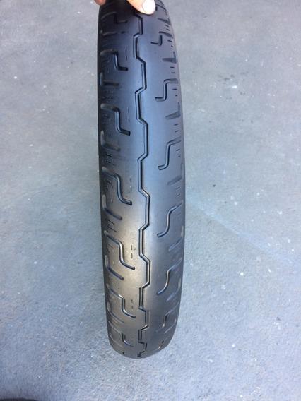 Pneu Dianteiro 100/90/19 Dunlop D401f Harley Davidson Usado