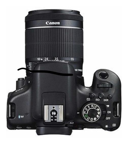 Camera Canon T6i Com Todos Os Acessórios E Cartão De Memoroa