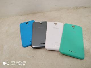 Celular Alcate Pixi 4/5.0, 4 Capas Usada Em Perfeito Estado.
