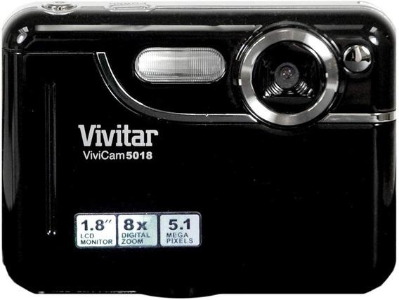 Camera Digital Vivitar Vivicam 5018 5.1mp Preta