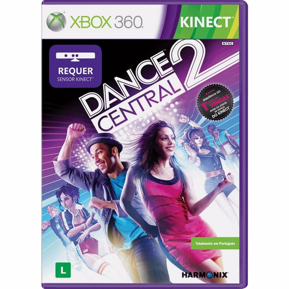Dance Central 2 Xbox 360 Original Completo Mídia Física