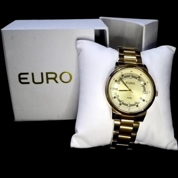 Relógio Euro Feminino Eu2036ylf/4d - Dourado