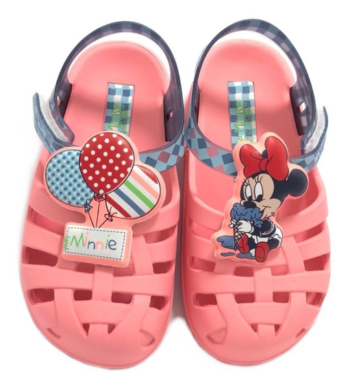 Sandália Grendene Kids Minnie Soft