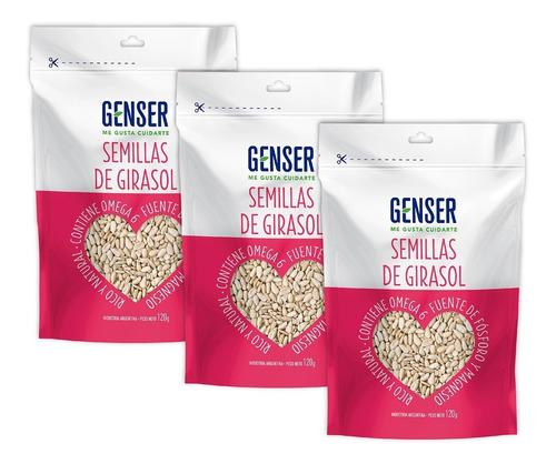 Semillas De Girasol Genser. Pack X 3