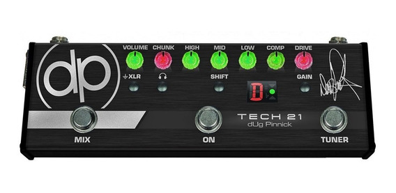 Pedal Tech 21 Bass Dp 3x Dug Pinnick Baixo Sansamp Dp-3x