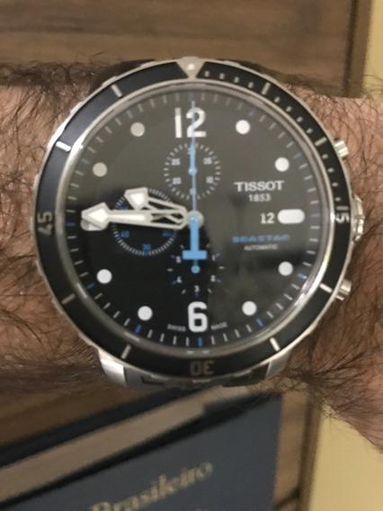 Relógio Tissot Seastar Automático Cronógrafo T066.427.17.057