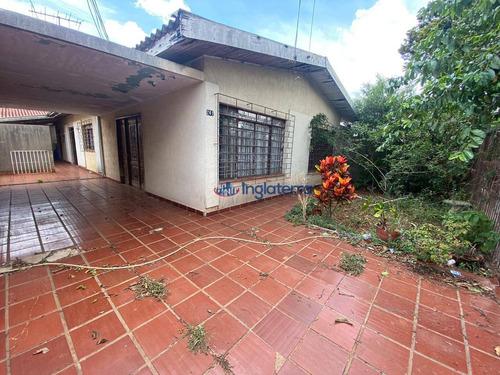 Imagem 1 de 14 de Casa À Venda, 250 M² Por R$ 530.000,00 - Jardim Petrópolis - Londrina/pr - Ca1771