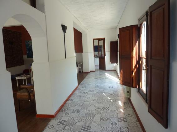 Casa Señorial Con Patio Y Jardin- Rufino( Sta Fe)-