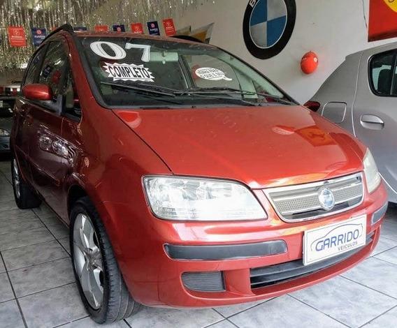 Fiat Idea Elx 1.4 Flex Vermelha 2007