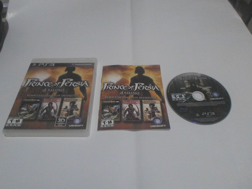 Prince Of Persia Trilogy ( 3 Jogos ) Frete Grátis  Cr