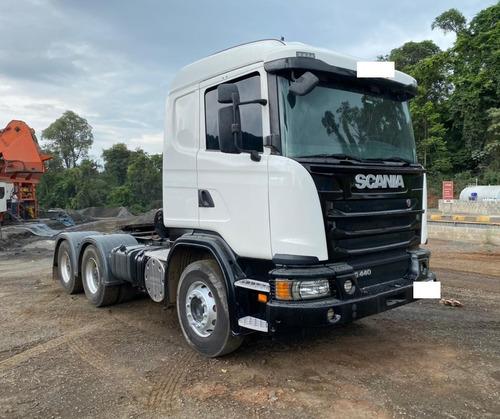 Scania G440 A6x4, 2014 - Boogie Pesado