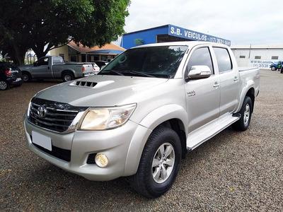 Toyota Hilux 3.0 Srv Cab. Dupla 4x4 Aut. Sinistrado.