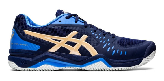 Asics Zapatillas Tenis Hombre Gel Challenger 12 Clay Azul