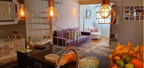 Cobertura Com 3 Dormitórios À Venda Por R$ 1.060.000 - Mooca - São Paulo/sp - Co0082