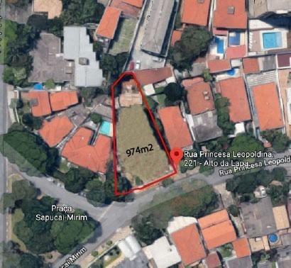 Terreno Padrão Em São Paulo - Sp - Te0033_sales