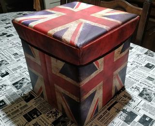 Caja Organizadora Plegable Cubo Juguetes Ropa Zapatos London