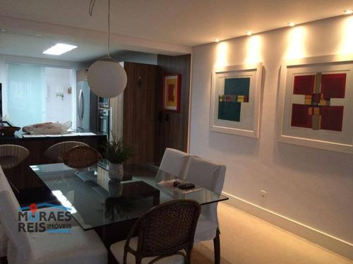 Apartamento À Venda, 142 M² Por R$ 1.098.000,00 - Paraíso Do Morumbi - São Paulo/sp - Ap16117