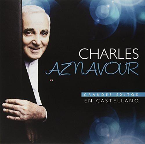 Vinilo Charles Aznavour Grandes Exitos En Castellano Sellado