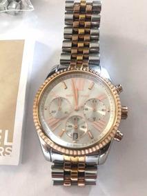 Relógio Michael Kors Luxo Gold Mk-5735