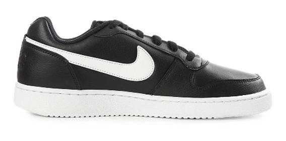 Tenis Nike Ebernon Low Unisex Negro Original Aq1775 002