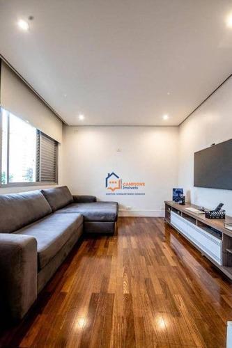 Apartamento À Venda, 108 M² Por R$ 880.000,00 - Perdizes - São Paulo/sp - Ap2640