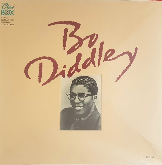 Bo Diddley - The Chess Box - Set 2 Cds + Booklet Lacrado