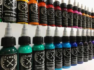 Tinta Extreme Tattoo Ink X 10 Unidades A Eleccion