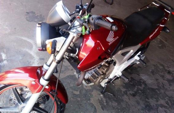 Honda Twister Cbx 250 Cc Ano 2006 Cor Vermelha