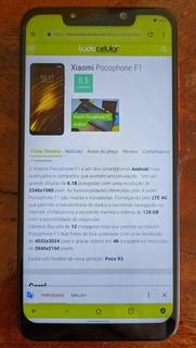 Smartphone Pocophone F1 128gb 6gb Ram Vermelho