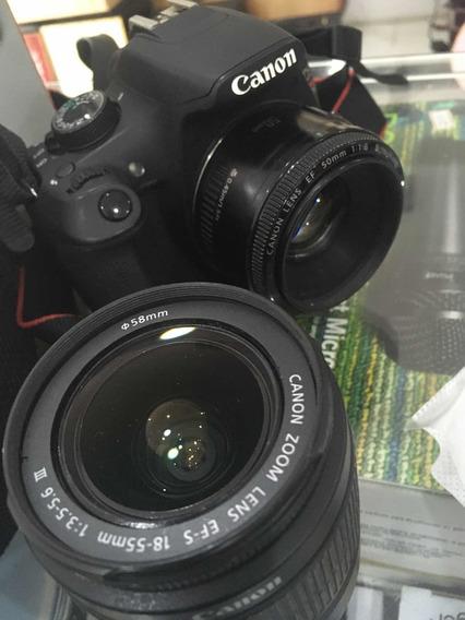 Câmera Cânon T5 C Lente