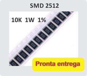 10x Resistor De 10k Ohms 1w 1% Smd 2512 6.4 X 3.2mm