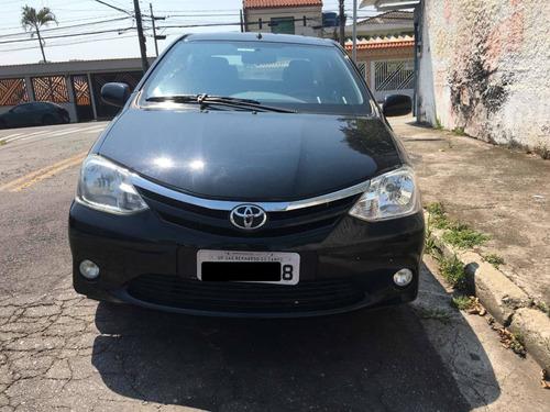 Imagem 1 de 15 de Toyota Etios 2013 1.5 16v Xls 4p