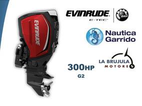 Motor Evinrude Etec G2 300hp. Consultar Precio De Contado.