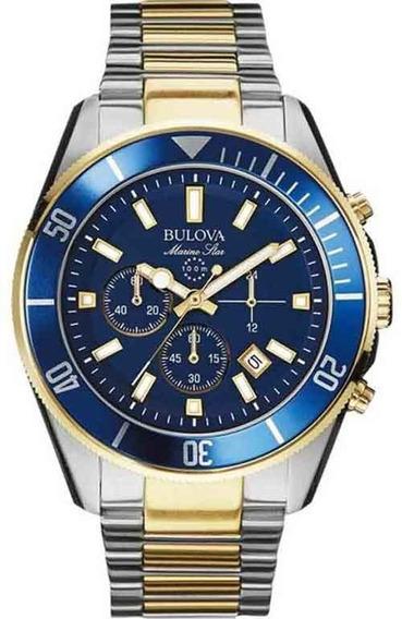 Relógio Bulova Masculino Marine Star Wb31774f